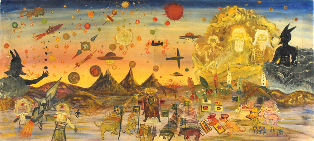 האמנות הקוסמית של משה אלנתן