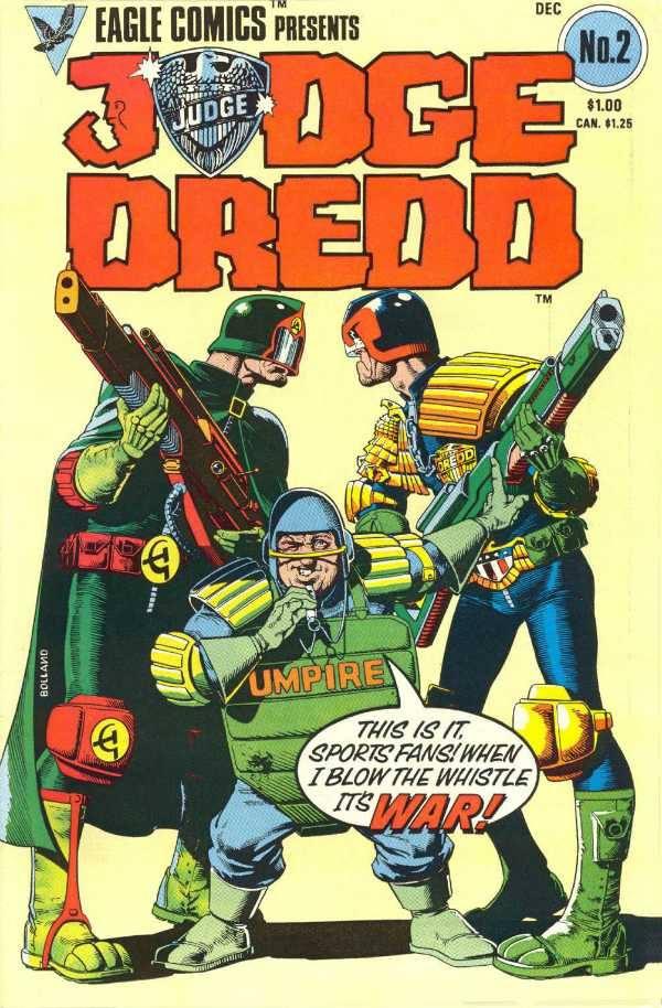 חברת החמצן: השופט דרד על הירח – סיפור קומיקס עתידני