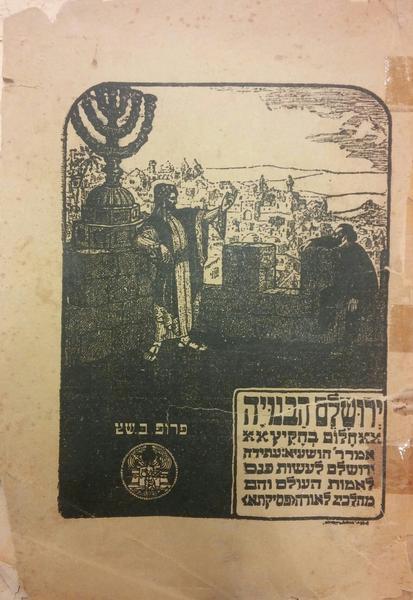 ארץ ישראל בשנת 2018 – חזון בוריס שץ